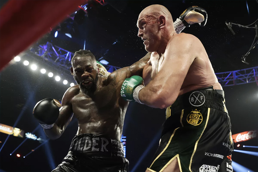 Fury v Wilder III sydney
