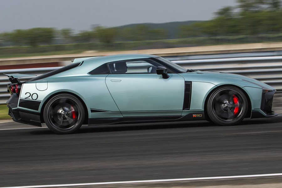 GTR 50 side view by ital design