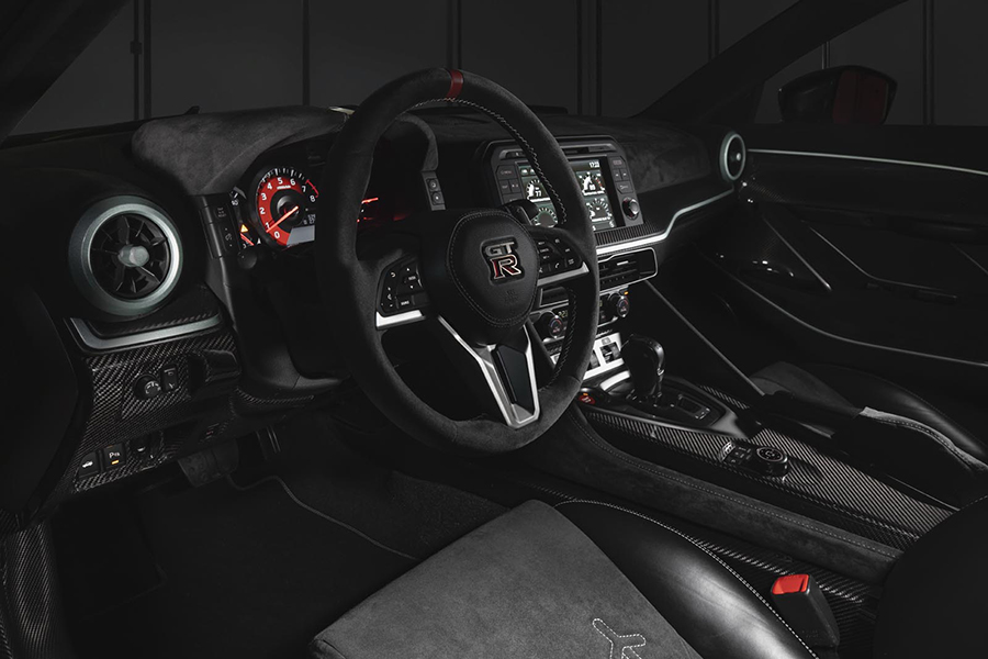 GTR 50 steering wheel