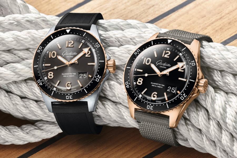 Glashütte seaq divers watch