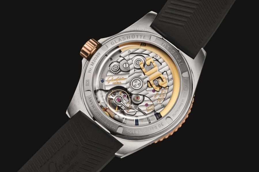 german made watch caseback
