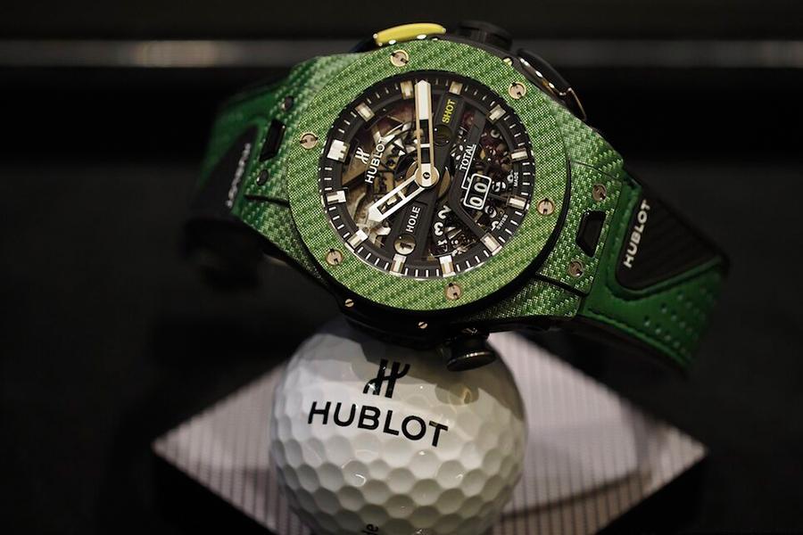 Hublot Big Bang Unico with golf ball