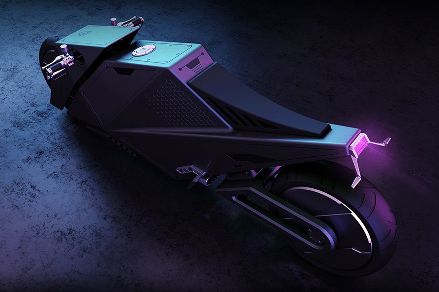 Hyper Cyber Concept bike