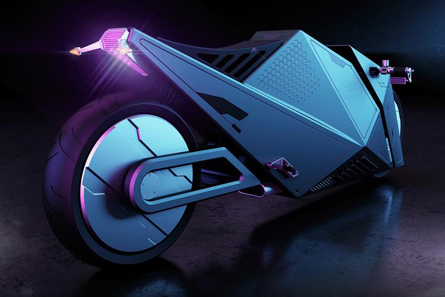 Hyper Cyber Concept wheel bike