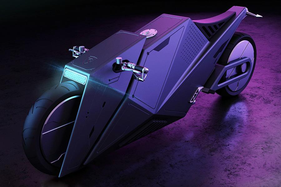 Hyper Cyber Concept top view bike