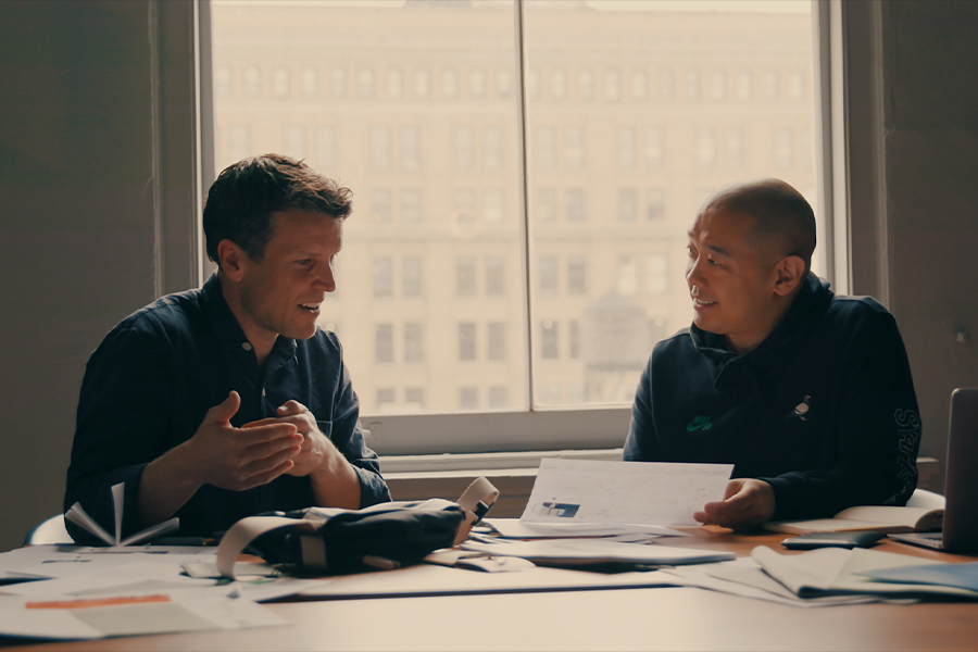 Jeff Staple and Andy Fallshaw_