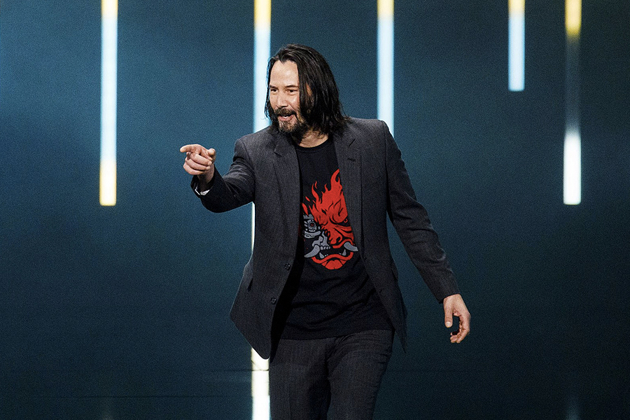 Keanu Reeves Auction 2