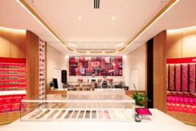 Interior of KitKat Chocolatory