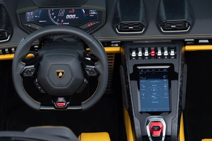 Lambo New Huracan VR steering wheel