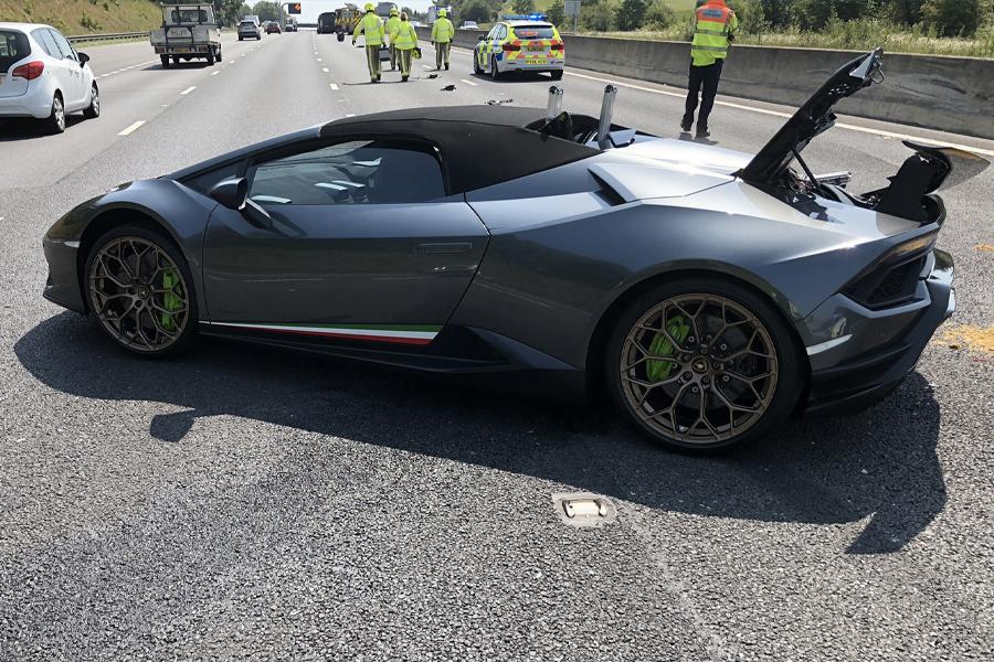 Lamborghini Crash 1