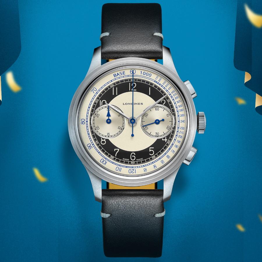 longines heritage tuxedo watch