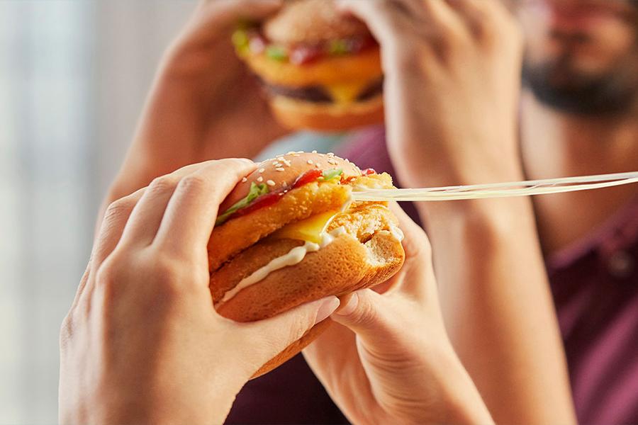 McDonald's Cheesy Range 4