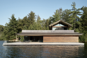 Metrick Cottage and Boathouse