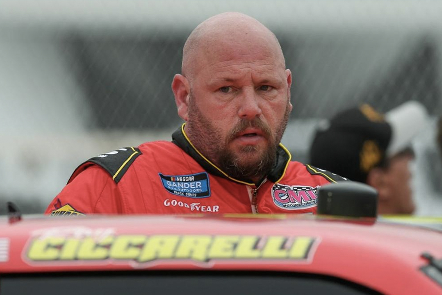 NASCAR driver ray ciccarelli