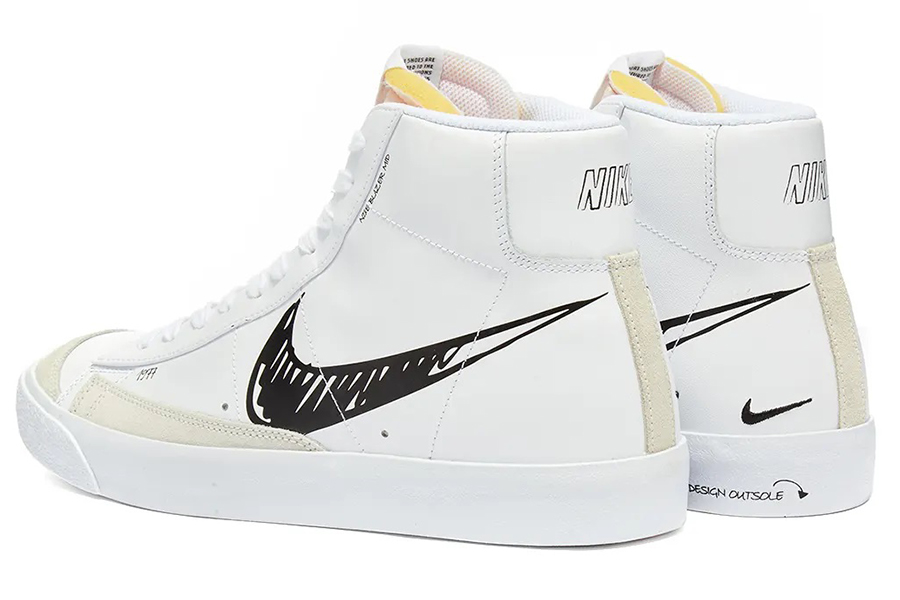 Nike Blazer Mid 77 Scribble