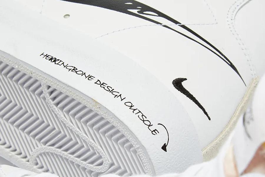 Nike Blazer Mid 77 Scribble Draws on Original Doodles   Man of Many