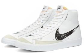 Nike Blazer Mid 77 Scribble side view