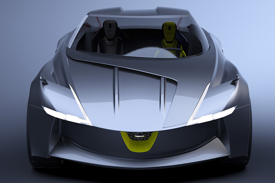 NISSAN Z-VISION front concept car