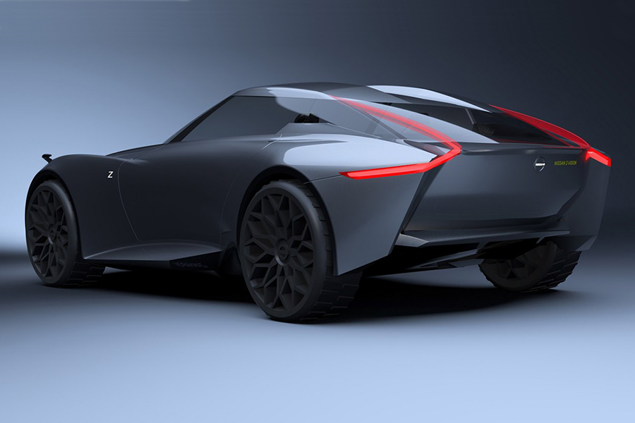 NISSAN Z-VISION back view concept car