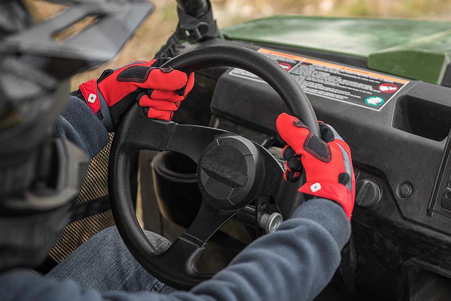 Polaris' Ranger Youth Side-By-Side ATV wheel