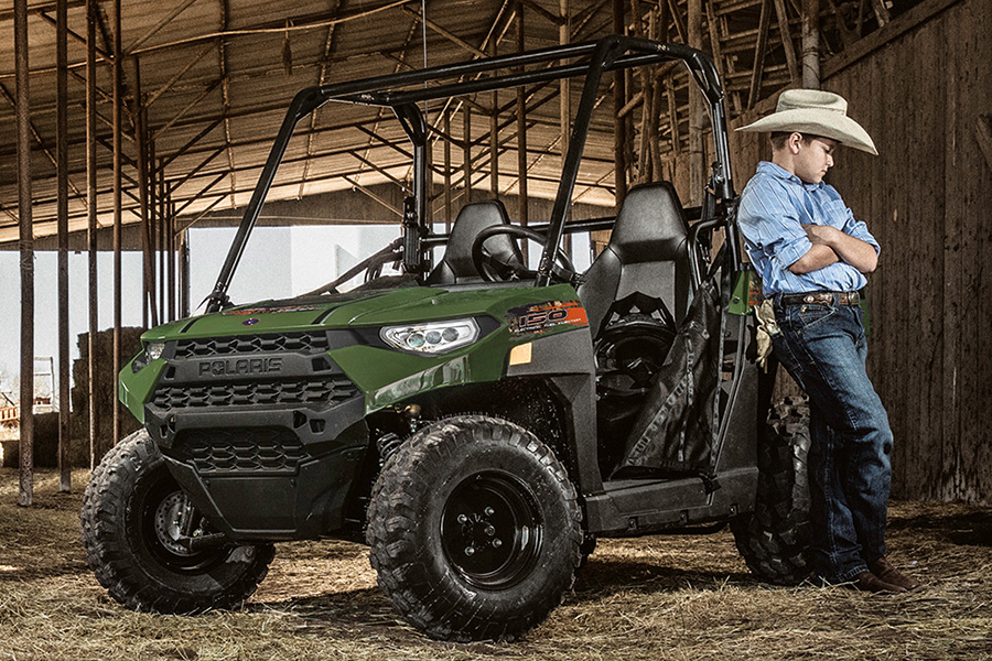 Polaris' Ranger Youth Side-By-Side ATV