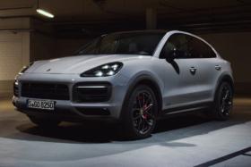 Porsche Cayenne GTS white