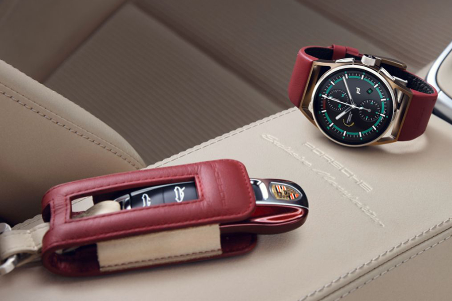 Porsche Design builds the perfect watch for the 911 Targa 4S watch and car key