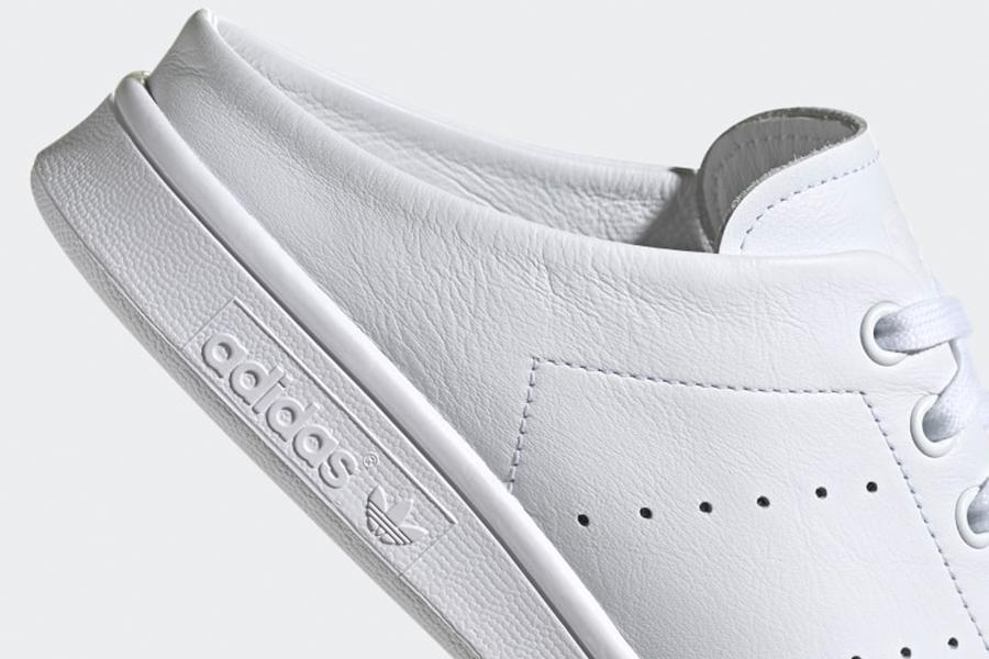 Stan Smith Slip On Shoes side adidas logo