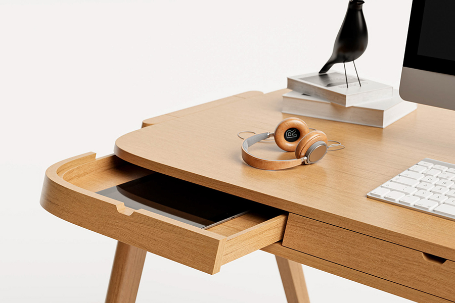 Shelter Desk for the organised drawer