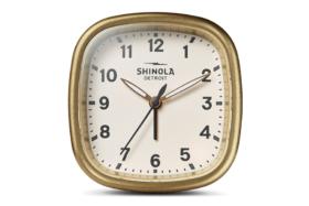 Shinola Guardian alarm clock