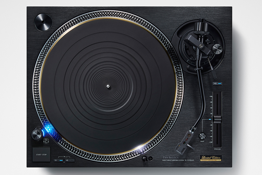 Technics Turntable system front view