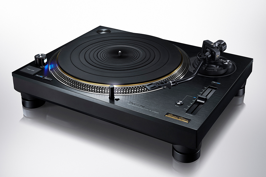 Technics Turntable system side view