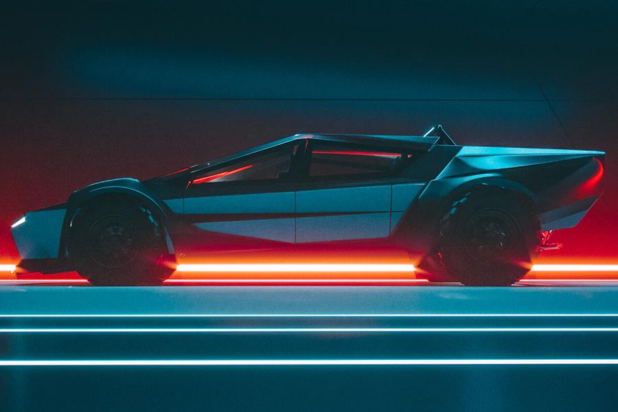 Tesla Cybertruck redesign concept