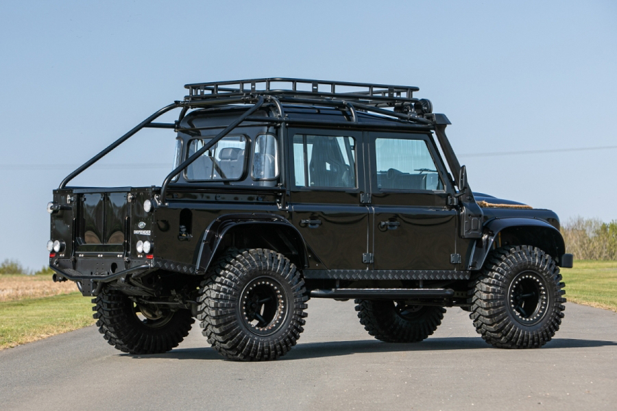 Last Defender from Spectre back side view
