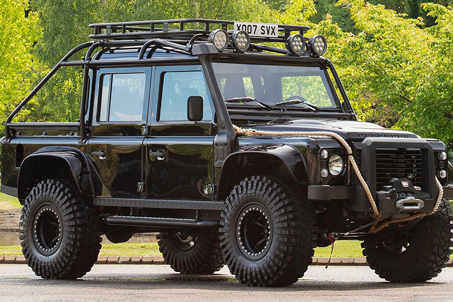 Last Defender from Spectre side view