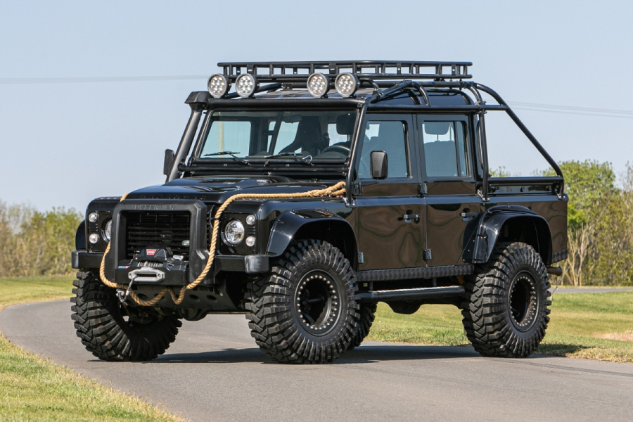 The Last Defender from Spectre Is Up for Auction | Man of Many