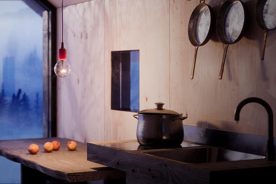 The Mountain Refuge kitchen hacks