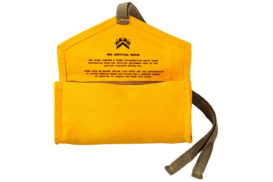 Timex x Nigel Cabourn Sea Survival Watch pouch
