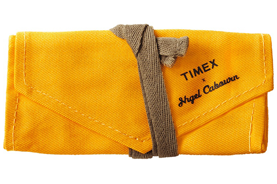 Timex x Nigel Cabourn Sea Survival Watch how to lock