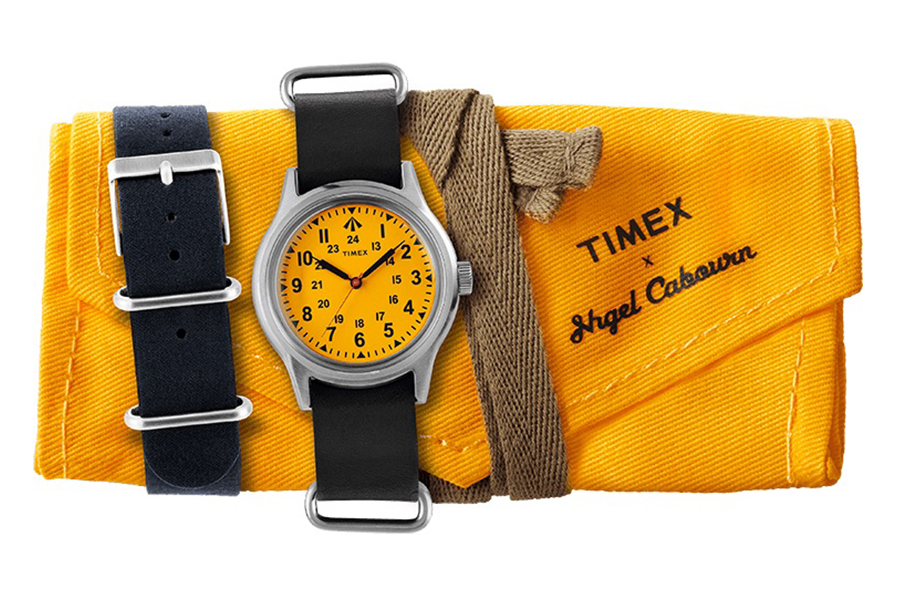 Timex x Nigel Cabourn Sea Survival Watch with paper