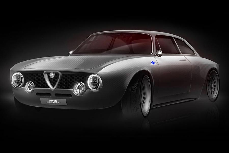 Totem's Alfa Romeo Giulia GTe Electric Restomod