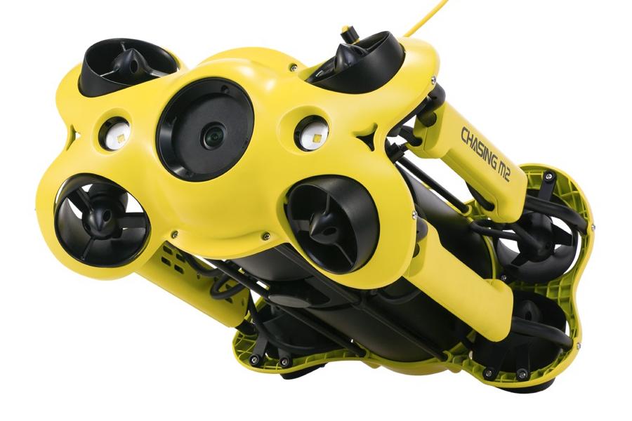 Underwater Drone side view