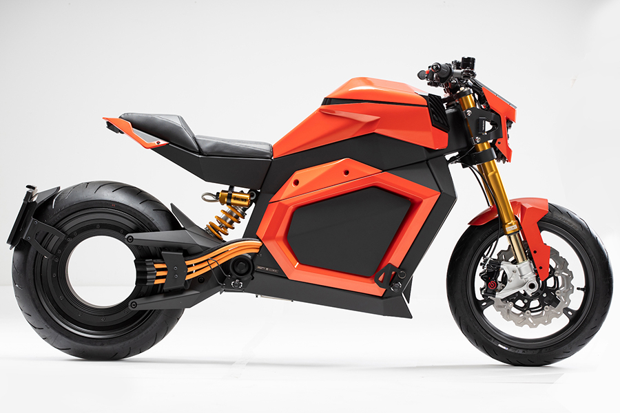 VERGE TS Electric Roadster motorcycle