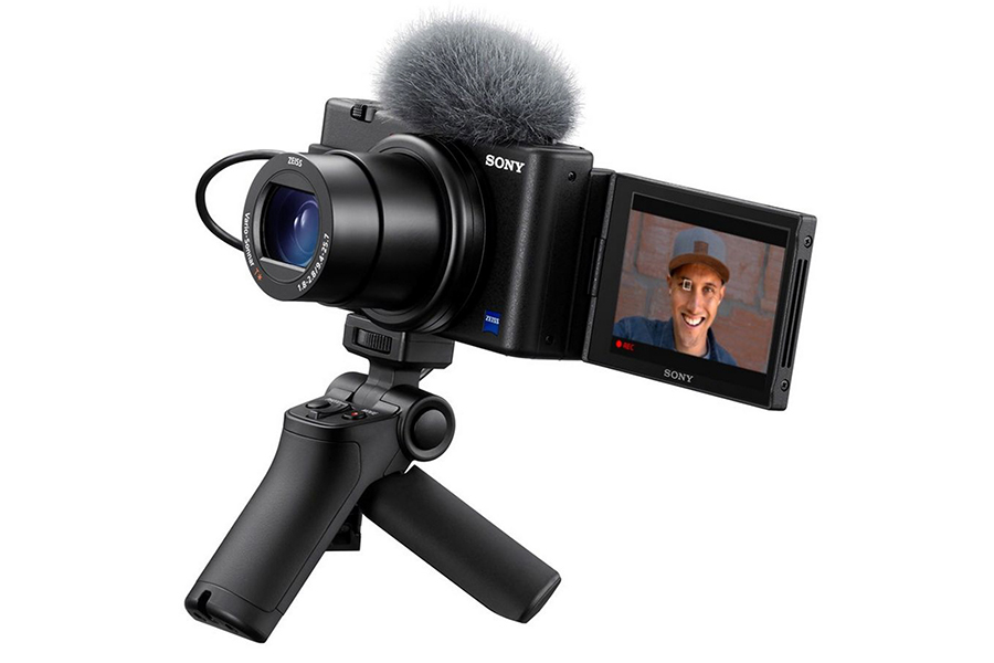 VLOG CAMERA ZV-1 with handle