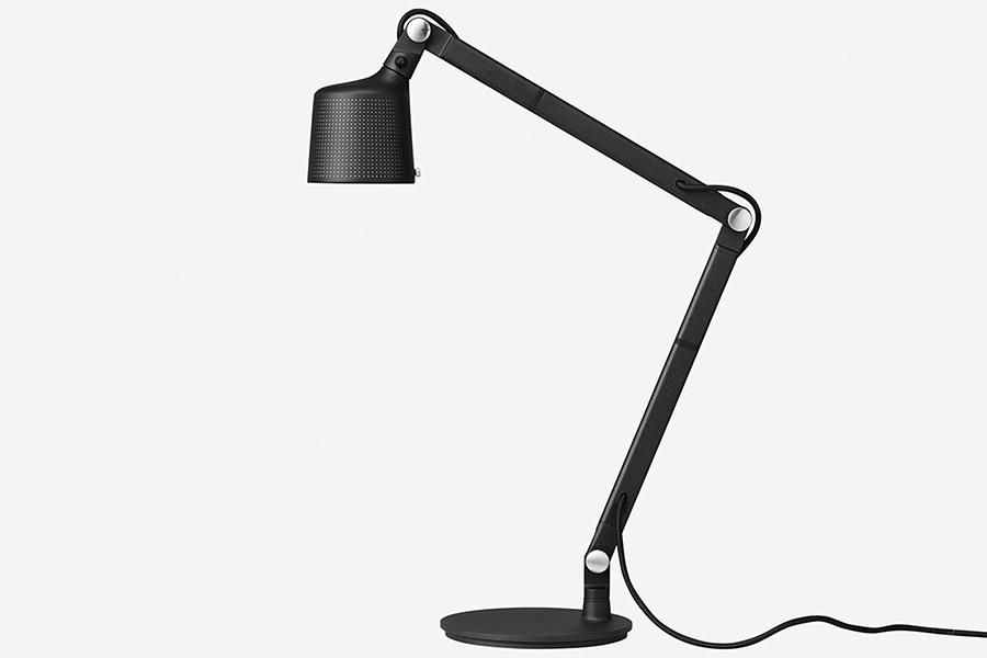 Vipp desk lamp side view