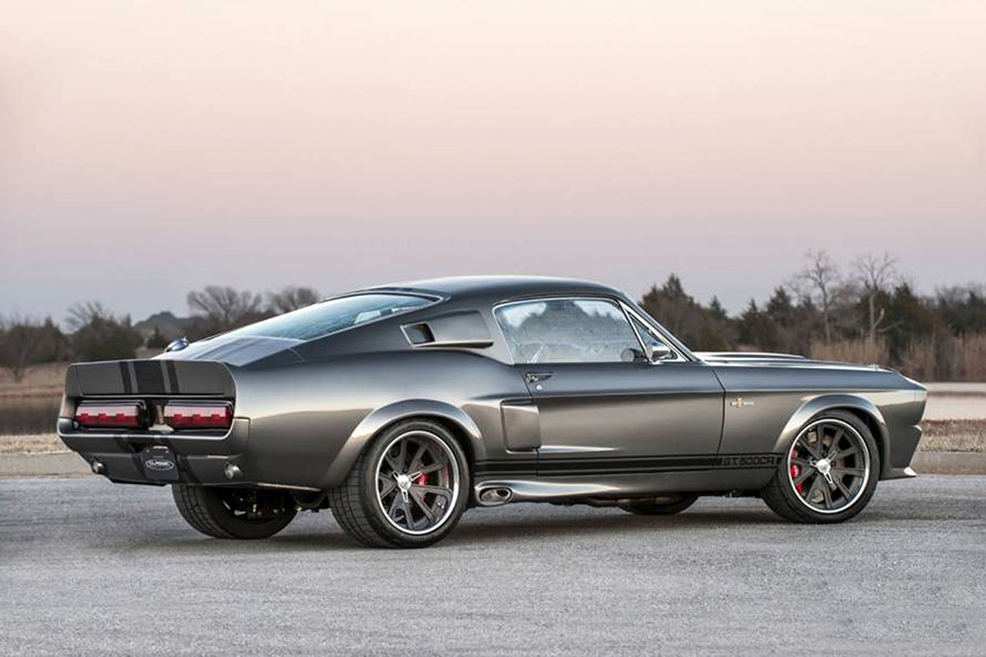Shelby GT500CR Mustang back side view