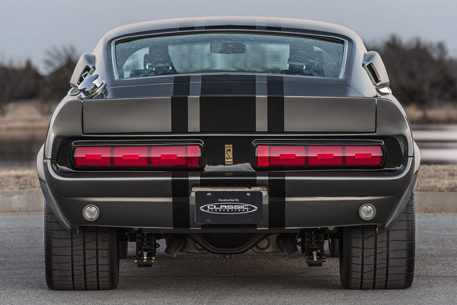 Shelby GT500CR Mustang back view