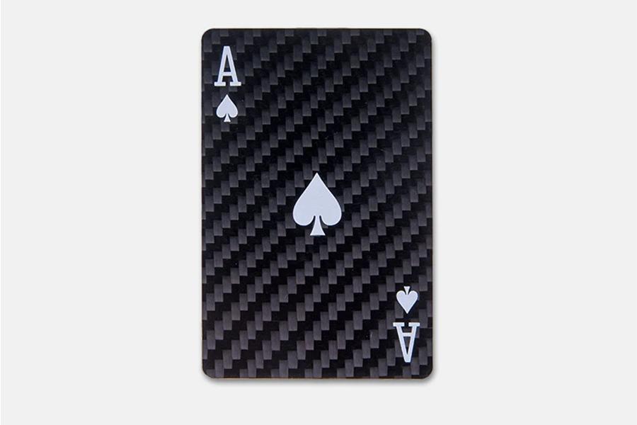 XC CARBON- CARBON FIBRE PLAYING CARDS_