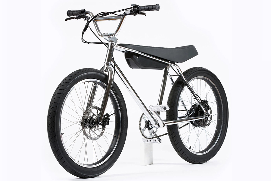 Zooz Electric Bike side view