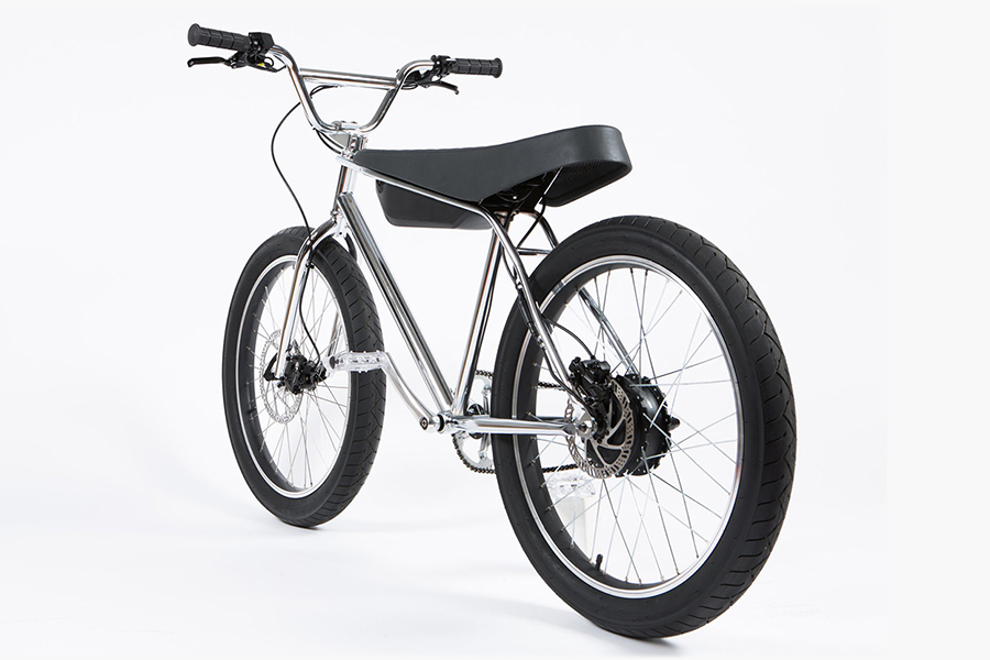 Zooz Electric Bike back view